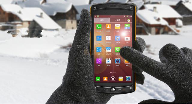 Desbloqueado Original Oinom LMV10 teléfono Resistente a prueba de agua teléfono Qualcomm Quad Core Android 4G LTE Teléfono Móvil 2G RAM 13MP LMV9