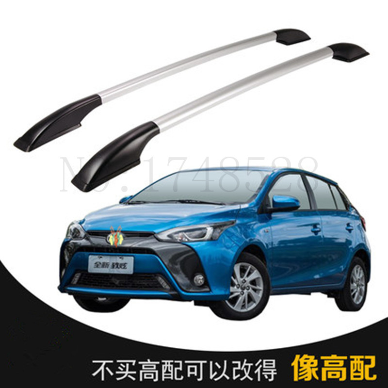 Free of punch Auto parts Refitting the roof rack of aluminum alloy luggage rack for Toyota YARiS L 1.3M Accessories mental punch cnc aluminum parts