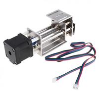 Mini Z Axis Threaded Rod Sliding Table With Linear Rail And 50mm Stroke For CNC Woodworking