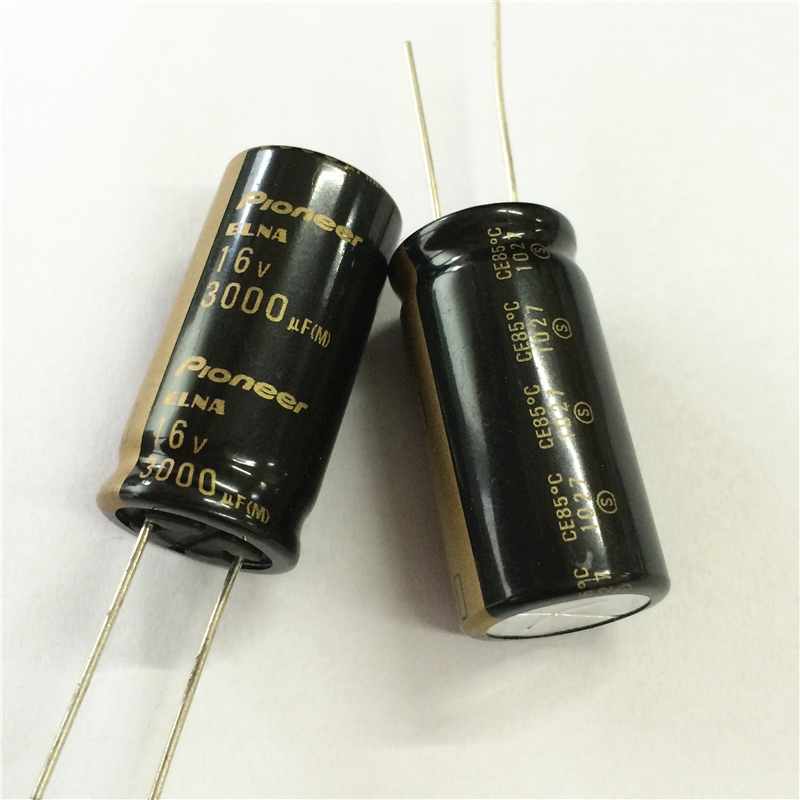 2pcs 3000uF 16V 16x32mm ELNA For Pioneer HiFi Audio Capacitor MADE IN JAPAN