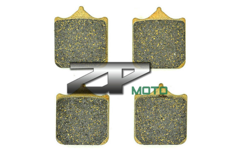 NAO Brake Pads For APRILIA RSV Mille R/1000/Mille (All models) 2001-2003 Front OEM New High Quality for aprilia rsv 1000 mille 2004 2007 cnc aluminum front