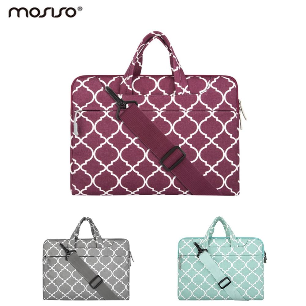 Mosiso Women Briefcase Notebook Messenger Bag for Macbook 11 13 15 inch Notebook Lenovo HP Acer Dell Toshiba 13.3 15.6 inch bag