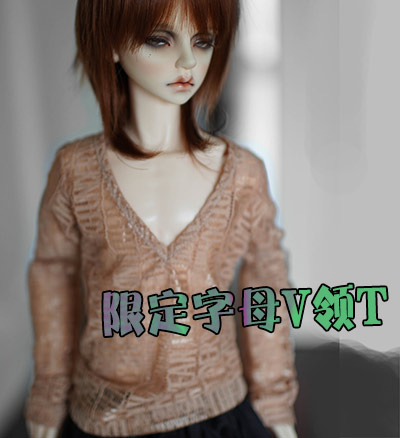 1/3 SD17 uncle BJD SD Doll accessories Bjd clothes letter  T-shirt unisex irregular long t shirt for bjd doll 1 6 yosd 1 4 msd 1 3 sd10 sd13 sd16 sd17 uncle luts dod as dz sd doll clothes cwb7
