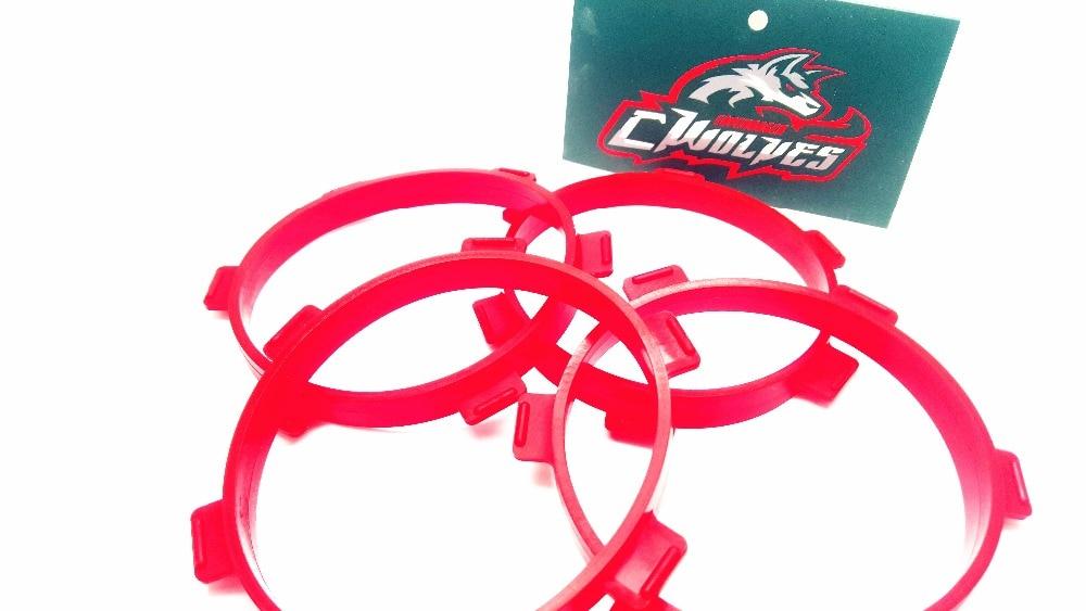 GWOLVES 4PC Резиновые шины для монтажа - Радиоуправляемые игрушки