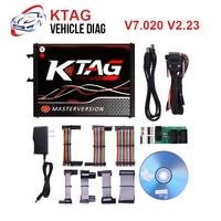 2019 KTAG V7.020 KESS V2 V5.017 SW V2.23 v2.47 2.47 Master ECU Chip Tuning Tool KTAG 7.020 Online Better KTAG V7.003