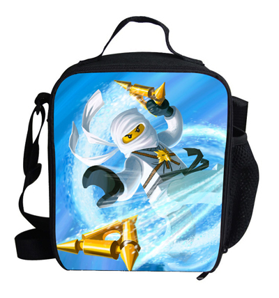 adc35da71d9c Fashion Ninjago Cooler Bag For Children Picnic Bag Ice Pack Insulation Bag  For Kids Cute Cartoon Bag for Student School Boys