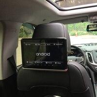 מסכי LCD YAZH 10.2 אינץ אנדרואיד 6.0 עם מסך מגע נגן CD DVD IPS 1366 * 768 TFT-LCD מסכי משענת הראש רכב עם WIFI Bluetooth Mirror Link (4)
