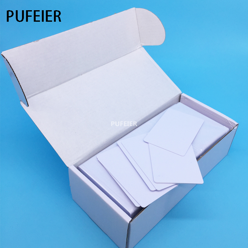 230PCS/Lot Printable Blank Inkjet PVC ID Cards For Canon Epson Printer P50 A50 T50 T60 R390 L800 L805