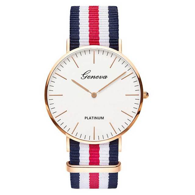 Hot Sale Nylon strap Style Quartz Women Watch Top Brand Watches Fashion Casual Fashion Wrist Watch Relojes 4