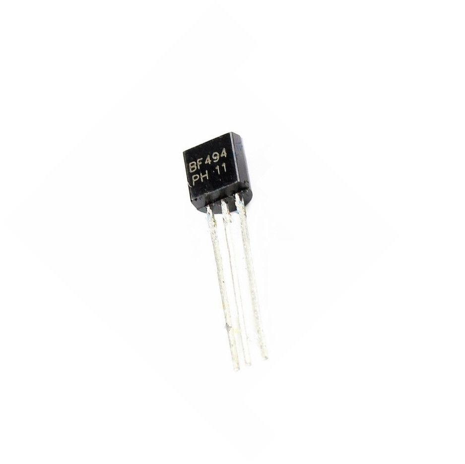 10 Pcs BF494 ORIGINAL NPN Medium Frequency Transistor Genuine New