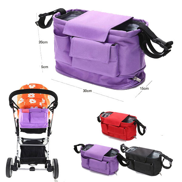 Baby Stroller Bags Organizer Nappy Bags Stroller Accessories Baby