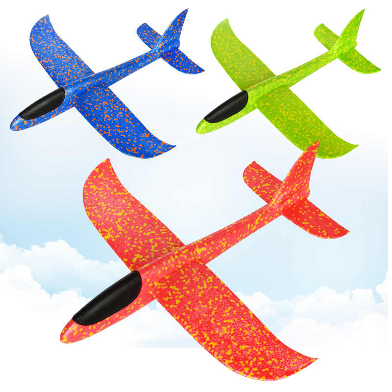 35cm Big Good Quality Hand Launch Throwing Glider Aircraft