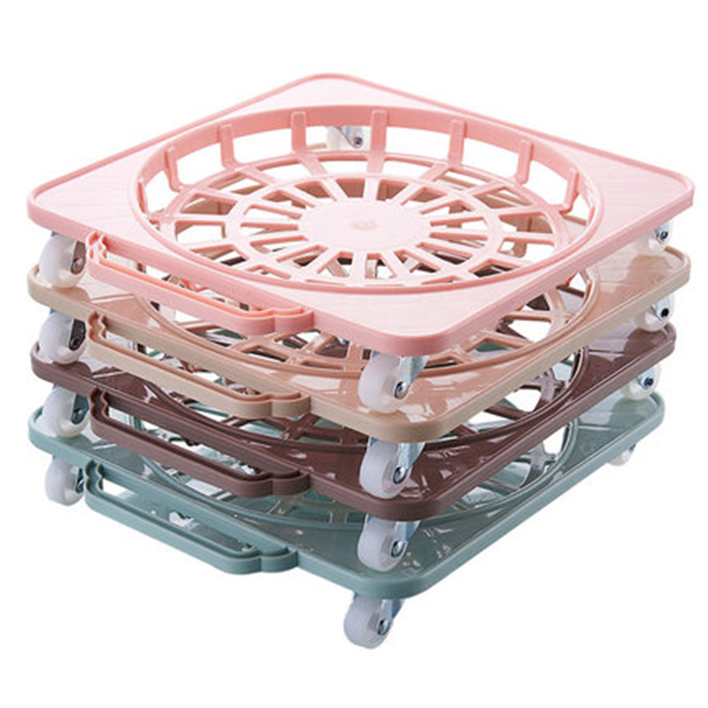 Removable Storage Rack Organizer With Wheels Plant Flower Pot Holder Stand  Gas Tank Bucket Base Tray Moving Bracket On Aliexpress.com   Alibaba Group