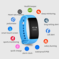 Waterproof IP68 Heart Rate Monitor Smart Band V66 OLED Display Wristband Bracelet Sport Activity Fitness Tracker For IOS Android