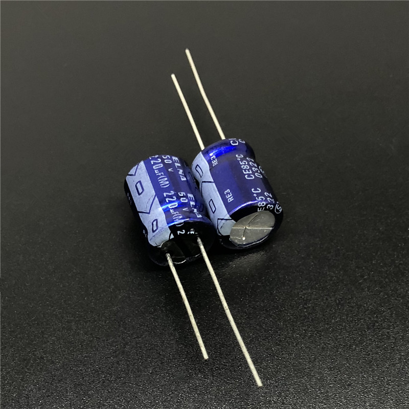 10pcs 220uF 50V ELNA RE3 Series 10x12.5mm 50V220uF Audio Capacitor
