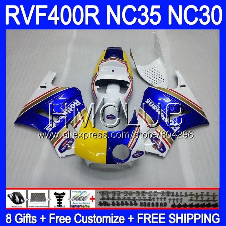 RVF400R For HONDA VFR400 R NC30 V4 Not race !! VFR400R 89 90 91 92 93 92HM.17 NC35 RVF VFR 400R 1989 1990 1991 1992 1993 Fairing