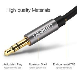 Image 5 - Ugreen kabel AUX do samochodu iPhone męski na męski kabel Audio Stereo 3.5 jack do jack 3.5 AUX kabel samochodowy do słuchawek bije głośnik