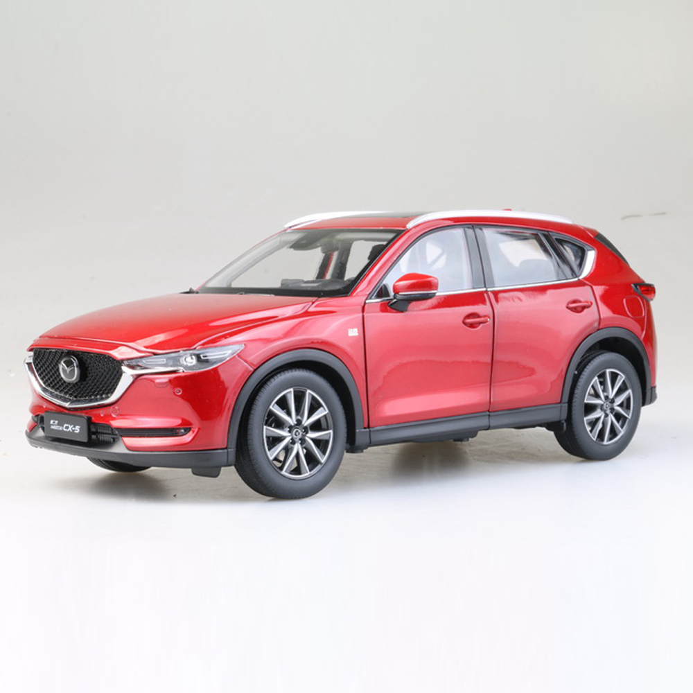 Scale 1:18 Diecast Car Model Of Mazda CX 5 2018 Type For Kids Children Gift And For Collection Free Shipping