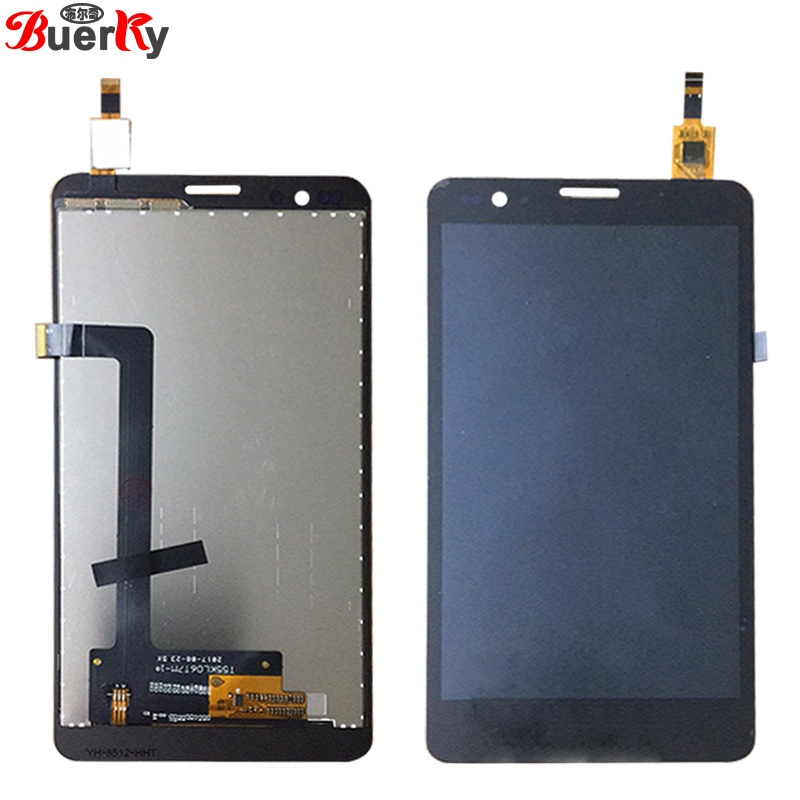 BKparts 1pcs LCD For Vestel Venus 5.5V Full LCD Display touch screen Glass Digitizer assembly Replacement Free shipping