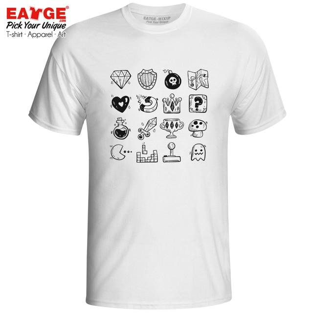 b2b9959b8 Video Gaming Life T-shirt Legend Of Zelda Pacman Mario Funny Active Fashion T  Shirt Design Casual Brand Women Men Top Cotton Tee