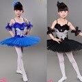 Colores Cisne infantil disfraz Kids Ballet Baile de Disfraces Etapa Profesional Tutú de Ballet dancewear Vestido Para Niña