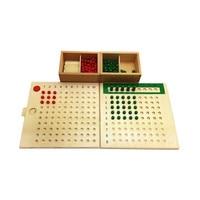Montessori Multiplication and Division Board Preschooler Math Toy