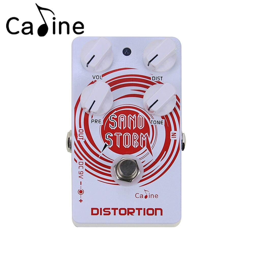 цена на Caline CP-27 Sand Crunch Distortion Guitar Effect Pedal Aluminum Alloy Housing True Bypass