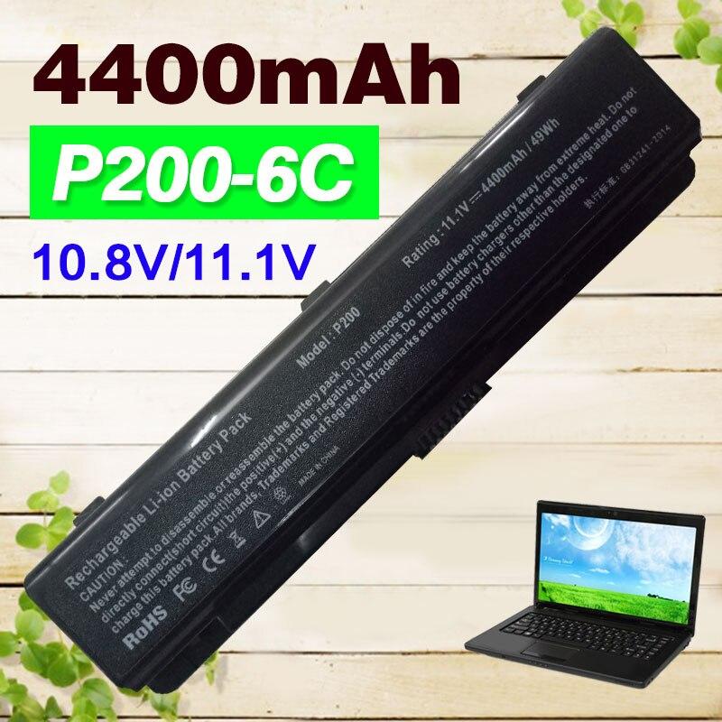 11.1 v 4400 mAh 6 cellules batterie d'ordinateur portable pour Samsung AA-PLAN9AB AA-PBAN6AB NP200B 400B NP400B P200 200B 600B 600B5C NP600B Série
