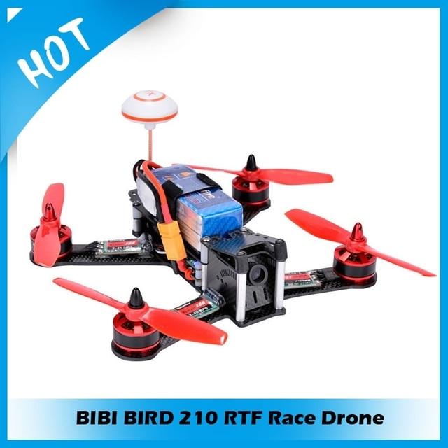 DIY BIBI BIRD 210 RTF Race Drone Kit RC Quadcopter QAV250 With HD Camera