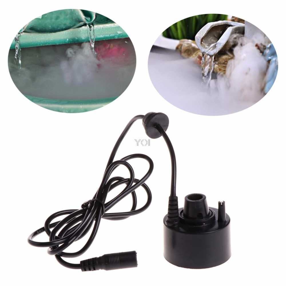 Super Ultrasonic Mist Maker Fogger Fog Water Fountain Pond Atomizer Humidifier Aquarium Fish Tank Supplies New