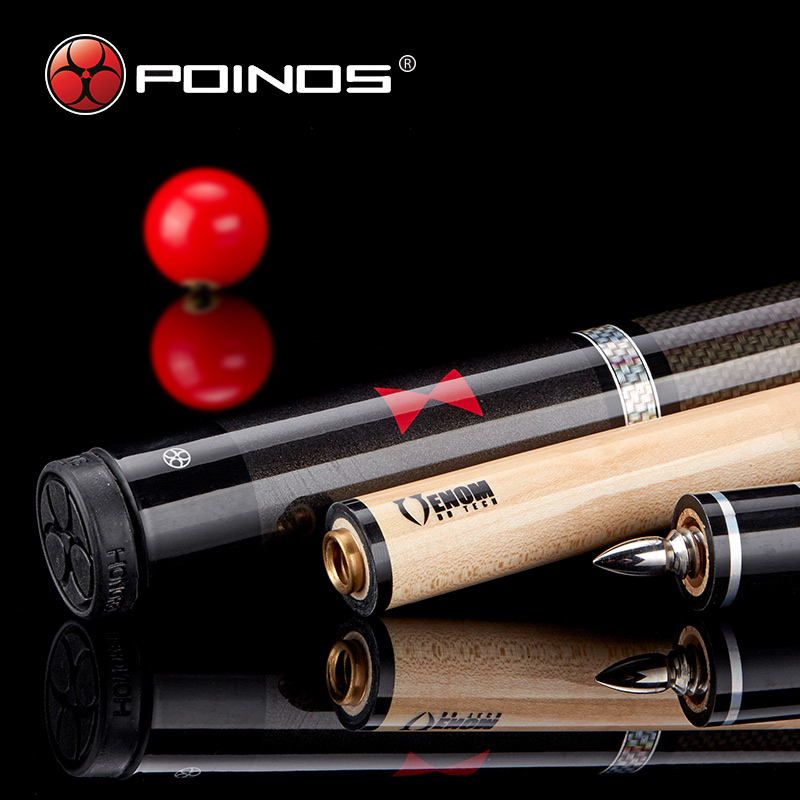 2017 Nya Poinos BW Stick Billiard Pool Cues Maple Shaft Wood Kina Biljard Sticks 19 20 21 OZ Cue 58 Inch