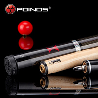 2017 New Poinos BW Stick Billiard Pool Cues Maple Shaft Wood China Billiard Sticks 19 20