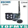 Escam QD900S Ip-камера 2-МЕГАПИКСЕЛЬНАЯ 1080 P Full HD Wi-Fi Камера ONVIF IP66 Водонепроницаемый Ик День/ночь Открытый Беспроводной пуля Ip-камеры