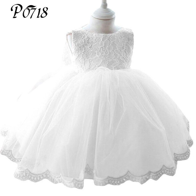 Newborn Girl Baptism Dress Christmas Costumes Baby Girls Princess Dresses 1 Year Birthday Gift Infant Kids