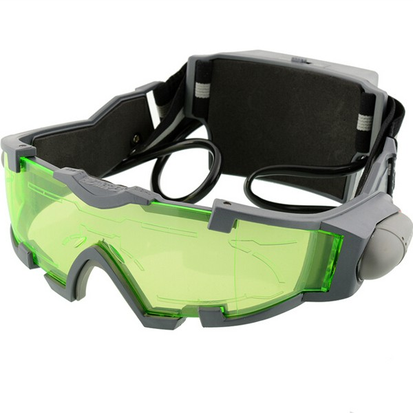 Night Vision Goggles Lens Adjustable Elastic  Night Glasses Eyeshield Worldwide Green Safety Protective Goggle new polarized driving sunglasses glasses mirror night and day dimming night vision glasses