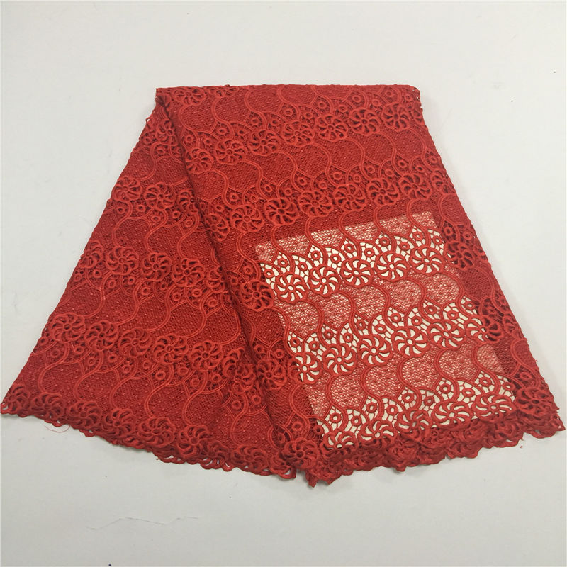 Newest african lace fabric embroidery tulle lace fabric hot selling flower pattern french net lace for woman dress