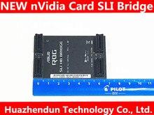 Original zertifiziert produkte nVidia Karte SLI Brücke PCI E Grafiken Stecker Brücke verbindung für Video Karte 6CM