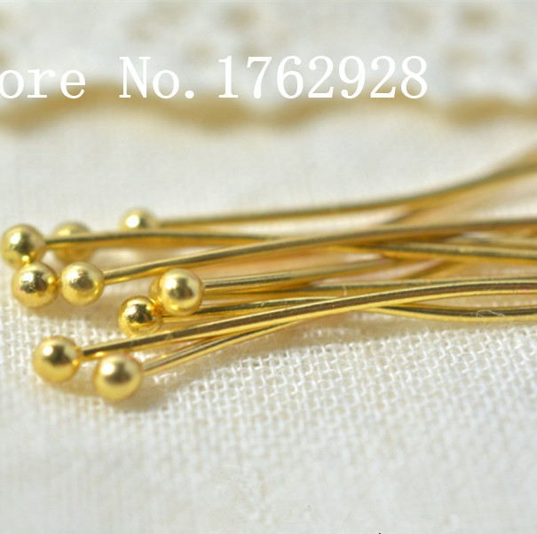 Antique Bronze Eye Head Pins 200pcs 18mm Findings For Diy Jewelry