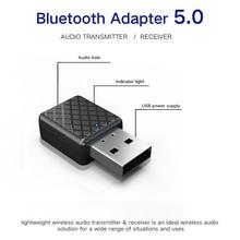 Mini Bluetooth 5.0 Audio Receiver Transmitter 3.5mm AUX Jack