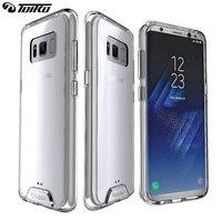 TOIKO Chiron Transparent Dur Hybride PC Tpu Quatrième de Couverture Baisse Protection Cas pour Samsung Galaxy S8