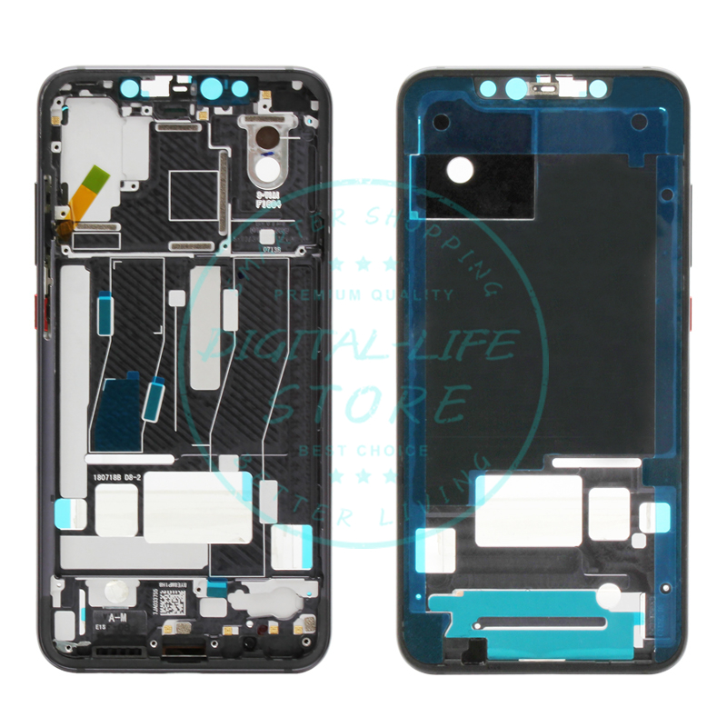 Xiaomi Mi 8 Explorer Middle Frame Plate Faceplate Mi8 Explorer LCD Supporting Bezel Housing Original Replacement Spare Parts
