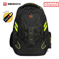"Swiss Brand Waterproof 15,6"" Men's Laptop Backpack High Quality Music Backpack for Teenage Boys mochila escolar Bagpack"