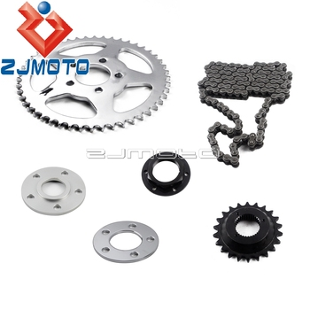 1 Set Motorcycle Belt to Chain Drive Transmission Sprocket Conversion Kit For Harley Sportster XL1200 XL883 2000-2017