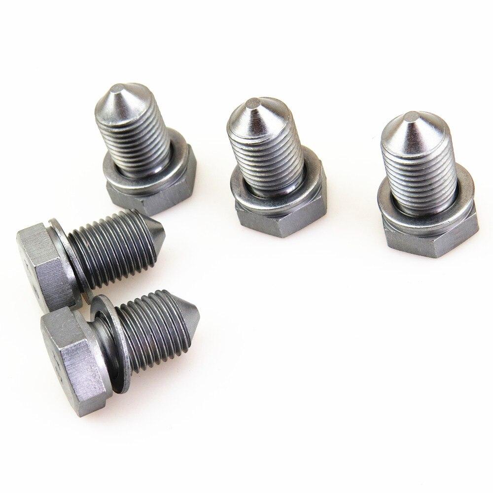 Fhawkeyeq 5x Drain Oil Screw Plug For Vw Touareg Tiguan