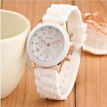 Luxury White Ceramic Water Resistant Classic Easy Read Sports Women Wrist Watch