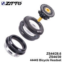 ZTTO 4444S MTB Bike Road Bicycle Headset 44mm CNC 1 1/8 28.6 Straight Tube Fork Internal ZS44 SEMI-INTEGRATED