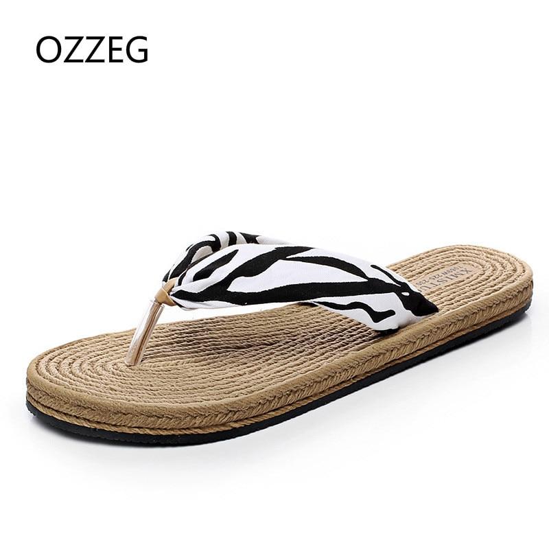 Zapatillas de mujer de verano Zapatillas de playa Chanclas de playa - Zapatos de mujer