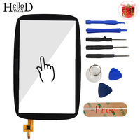 A+++ Mobile Touch Glass For Tomtom GO 600 GO 6000 Touch Screen Digitizer Panel Front Lens Sensor Part Tools Free Adhesive + Gift