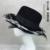 Europa e Nos Estados Unidos da grande sinal da loja M nova pena chapéu ms ampla-borda chapéus mais elegante estilo ocidental