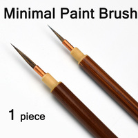 Minimal Japanese Calligraphy Brush line Brush Rabbit Hair writing Brush Pen Calligraphy Painting Art Supplies Stationary